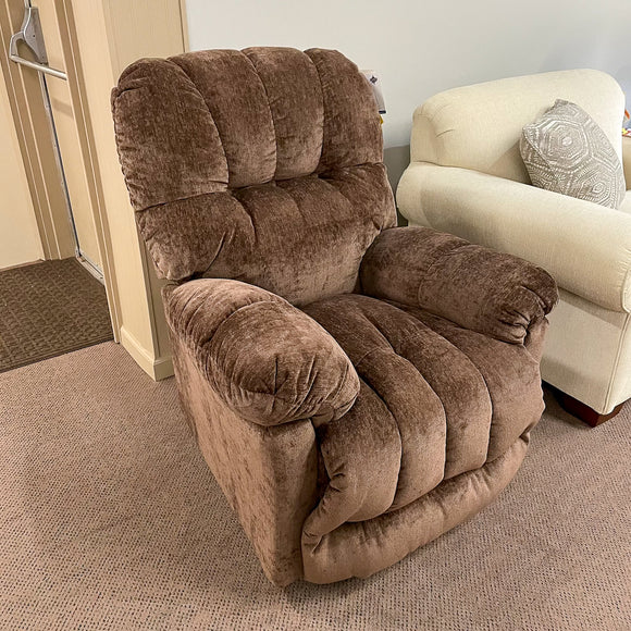 McGinnis Chocolate Power Wallsaver Recliner