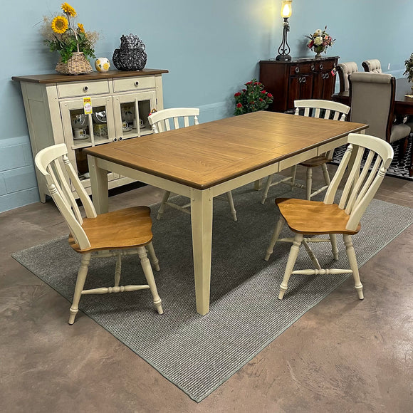 Sandown Rectangular Table & 6 Chairs