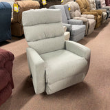 Hillarie Cashmere Swivel Rocker Recliner