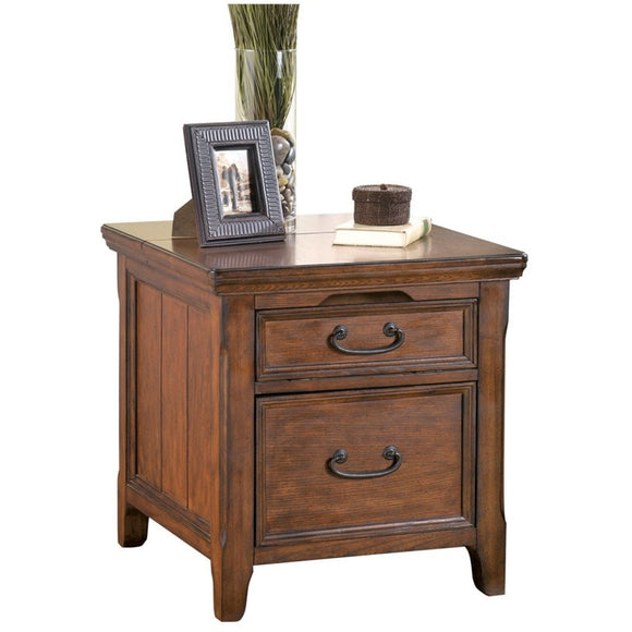 Greyson Media End Table with Power Outlets