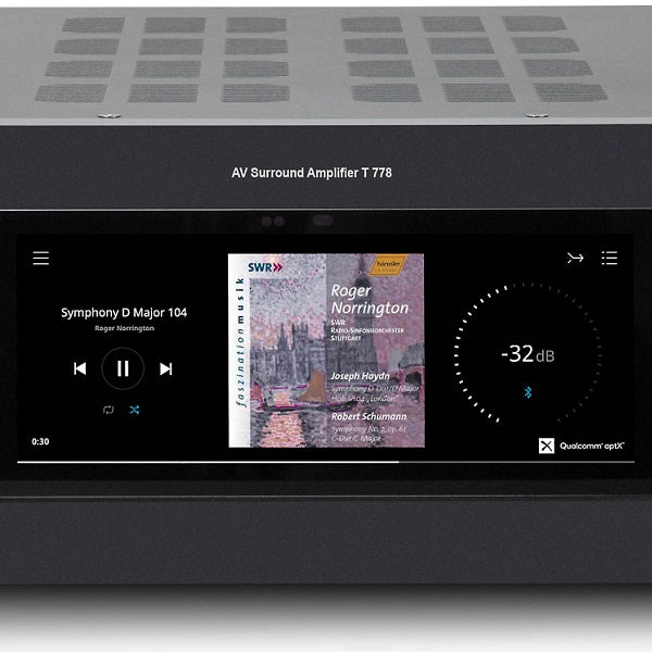 NAD Electronics T 778 9 Channel Flagship A/V Receiver with 7.1.4 ATMOS Coming Soon