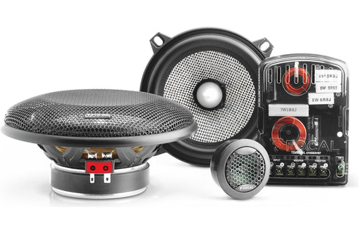"Focal 130 AS Performance Access 5.25"" 2 Way Component Speaker (Pair) - Safe and Sound HQ"