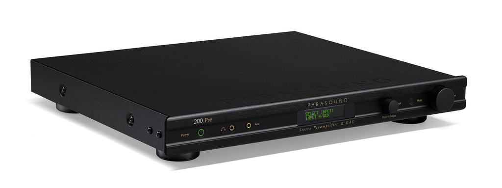Parasound New Classic 200 Pre Stereo Preamplifier and DAC B-Stock - Safe and Sound HQ