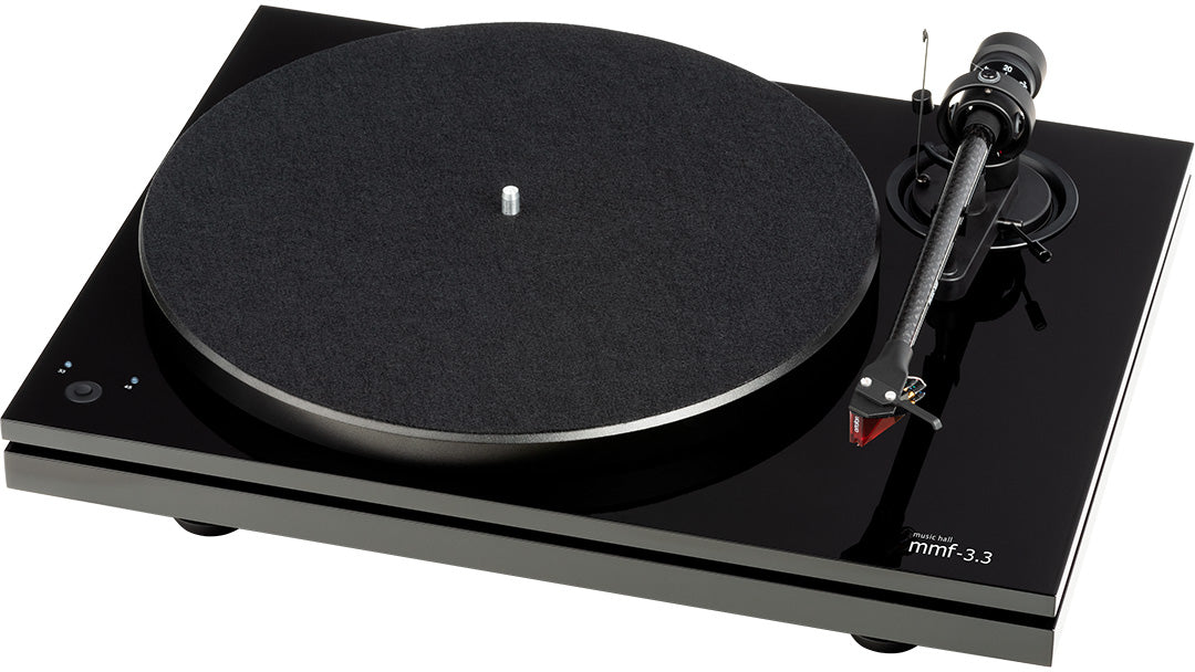 Music Hall MMF-3.3 2 Speed Belt-Drive Audiophile Turntable - Safe and Sound HQ