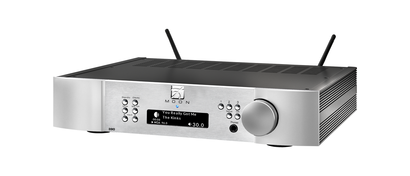 Simaudio 390 Moon Network Player and Preamplifier - Safe and Sound HQ