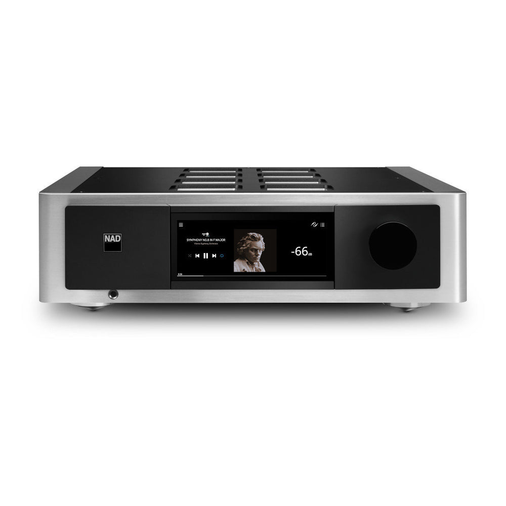 NAD Electronics M33 BluOS Streaming DAC Amplifier - Safe and Sound HQ