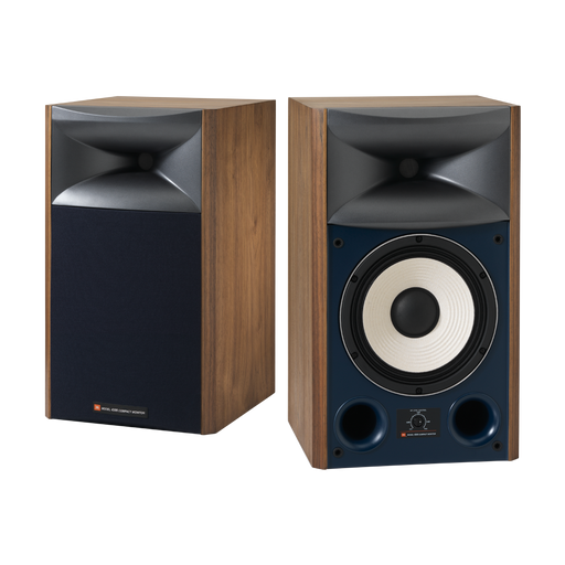 "JBL 4306 Classic 8"" 2-Way Studio Monitor Loudspeakers Walnut (Pair) - Safe and Sound HQ"