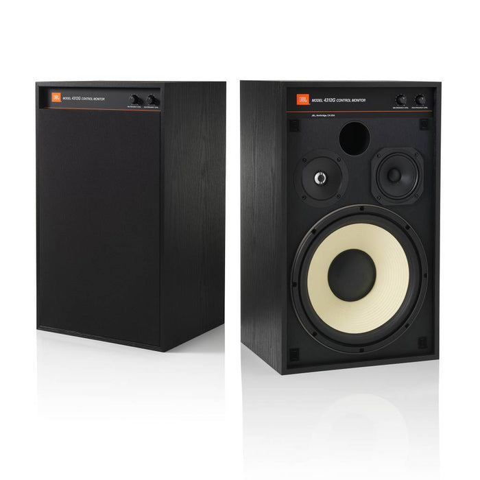 "JBL 4312G Classic 3-Way 12"" Studio Monitor Bookshelf Loudspeakers (Pair) - Safe and Sound HQ"