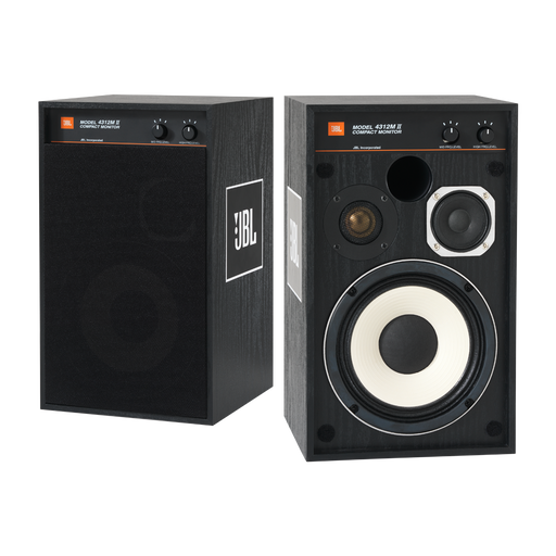 "JBL 4312M II Classic 5.25"" 3-Way Studio Monitor Loudspeakers (Pair) - Safe and Sound HQ"