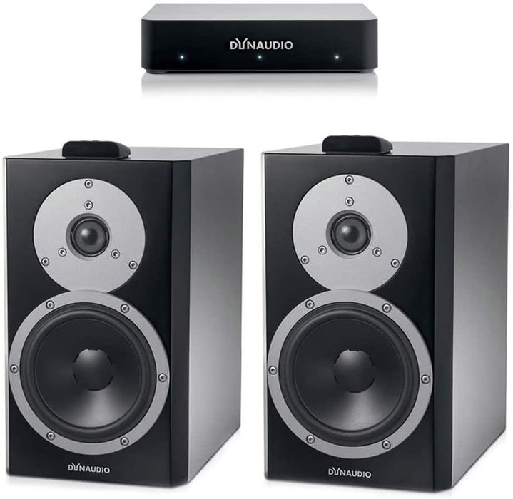 Dynaudio Xeo 4 Wireless Bookshelf Speakers Pair with Connect Wireless Transmitter Open Box - Safe and Sound HQ