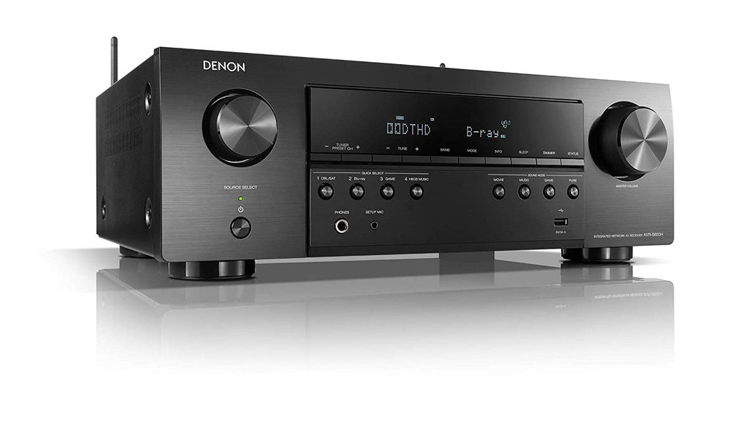 Denon AVR-S650H 5.2 A/V Receiver with Voice Control - Safe and Sound HQ