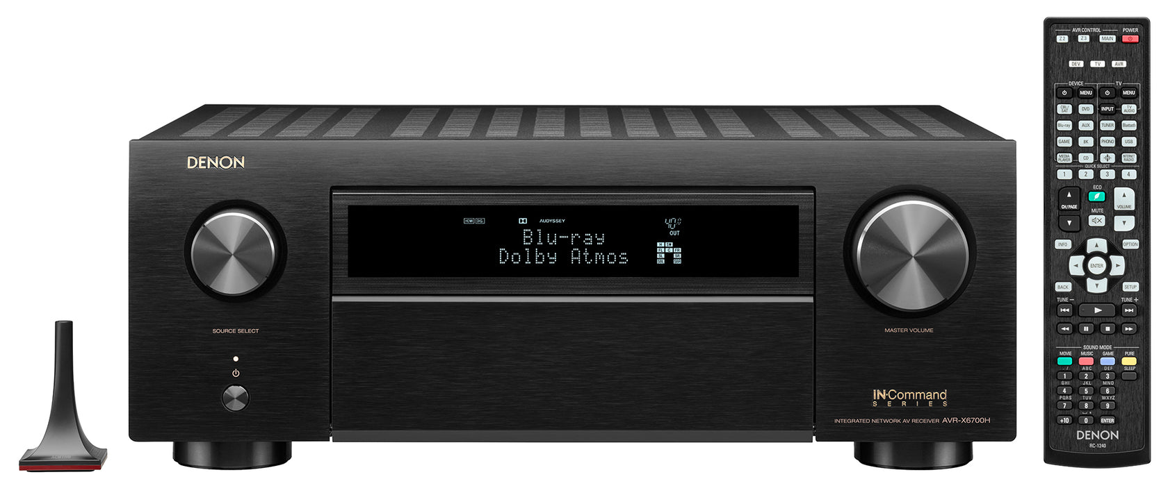 Denon AVR-X6700H 11.2 Channel 8K A/V Receiver with 3D Audio and Amazon Alexa Voice Control - Safe and Sound HQ