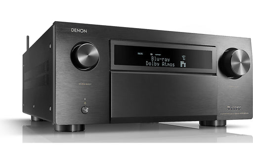Denon AVR-X8500H 13.2 Channel A/V Reveiver with Auro-3D and HEOS Factory Scratch and Dent - Safe and Sound HQ