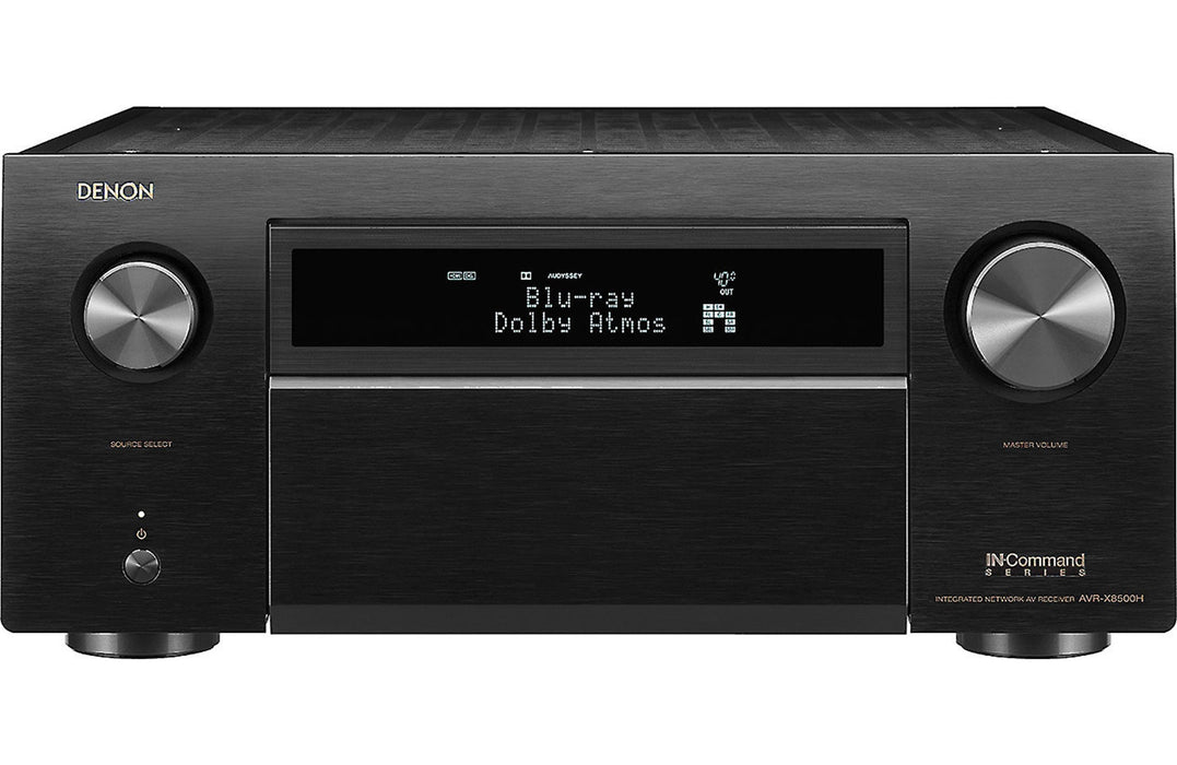 Denon AVR-X8500H 13 2 Channel A/V Reveiver with Auro-3D and HEOS Open Box