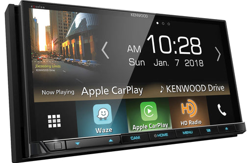 "Kenwood DDX8905S 6.95"" DVD Receiver with Bluetooth and HD Radio - Safe and Sound HQ"