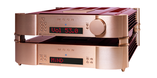 Simaudio Moon 40th Anniversary Edition 680D Streaming DAC and 600i Integrated Amplifier Bundle - Safe and Sound HQ