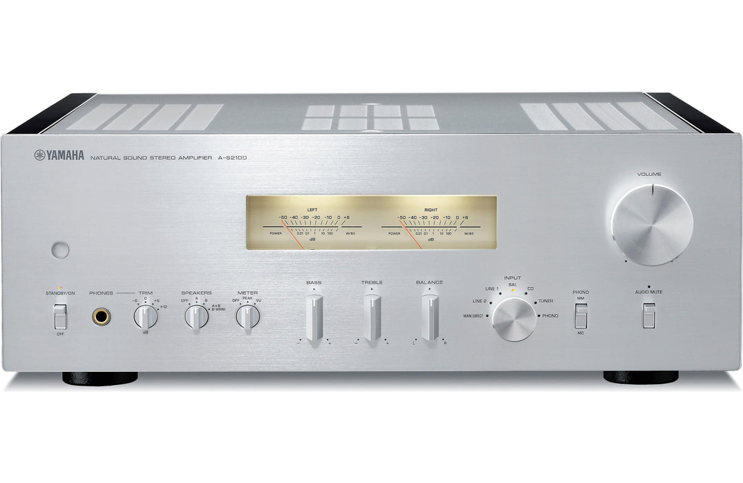Yamaha A-S2100 Integrated Stereo Amplifier Open Box - Safe and Sound HQ