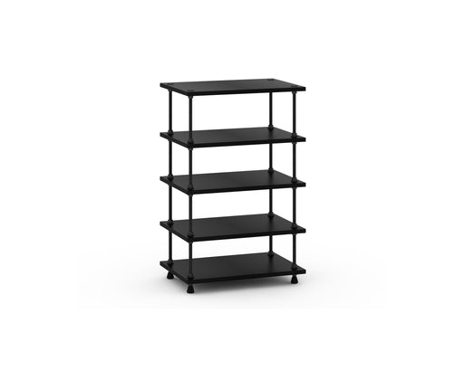Salamander Designs Archetype 5 Shelf A/V Stand Black - Safe and Sound HQ
