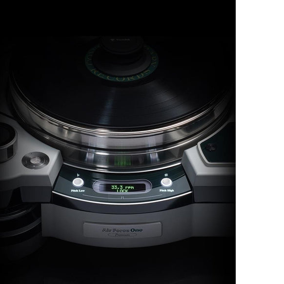 TechDAS Air Force One Premium Turntable - Safe and Sound HQ
