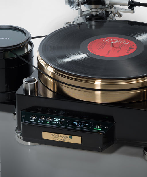 TechDAS Air Force III Premium Turntable - Safe and Sound HQ