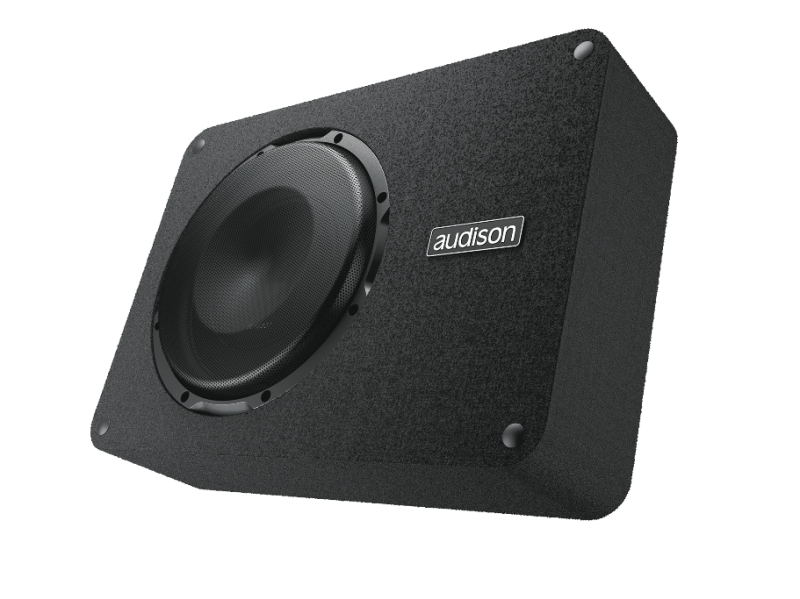Audison APBX 8 R Prima 8 Inch Single 4 Ohm Ported Subwoofer Enclosure System - Safe and Sound HQ
