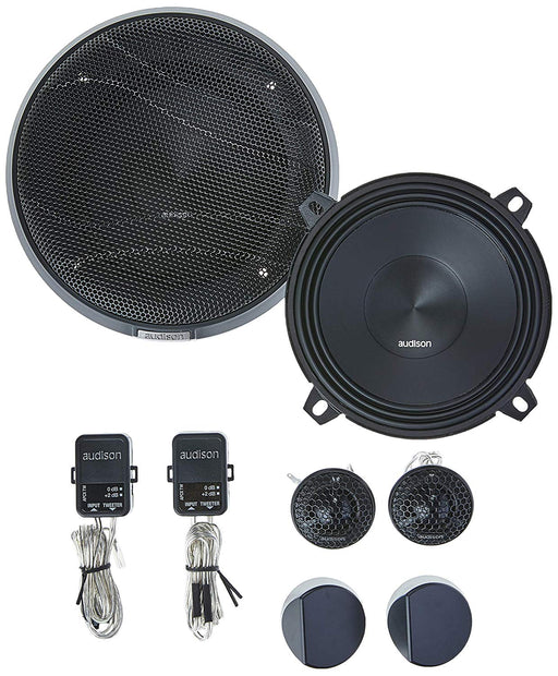 "Audison APK 130 2-Way 5.25"" Component Speaker (Pair) - Safe and Sound HQ"