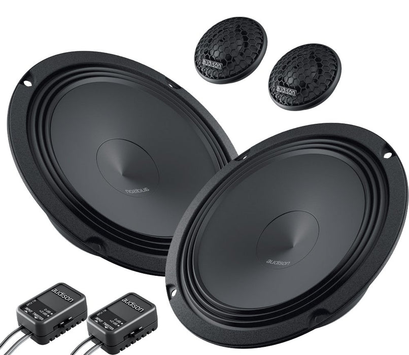 "Audison APK 165 2-Way 6.5"" Component Speaker (Pair) - Safe and Sound HQ"