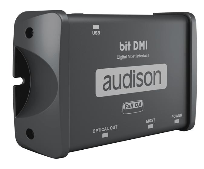 Audison Bit DMI MOST Bus Digital Interface to TOSLINK Optical Out - Safe and Sound HQ