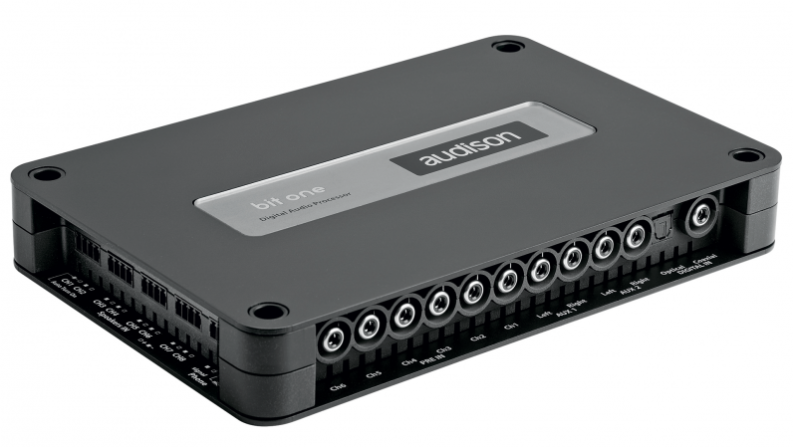 Audison Bit One Signal Interface Processor with 8 Channels In and Out - Safe and Sound HQ