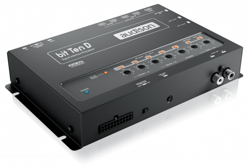 Audison Bit Ten D Signal Interface Processor with 4 Channels In and 5 Out, DRC - Safe and Sound HQ