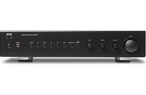 NAD Electronics C 165BEE Stereo Preamplifier Factory Refurbished - Safe and Sound HQ