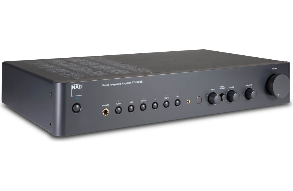 NAD Electronics C 316BEE V2 Stereo Integrated Amplifier Factory Refurbished - Safe and Sound HQ