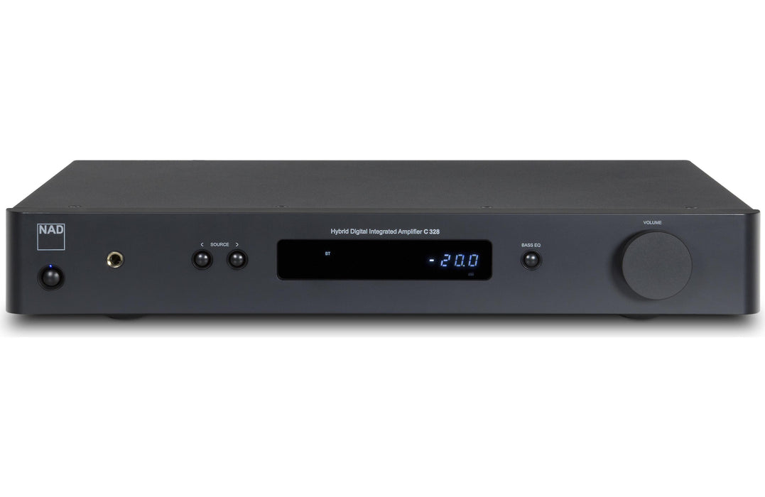 NAD Electronics C 328 Stereo Integrated Amplifier with built-in DAC and Bluetooth Factory Refurbished - Safe and Sound HQ