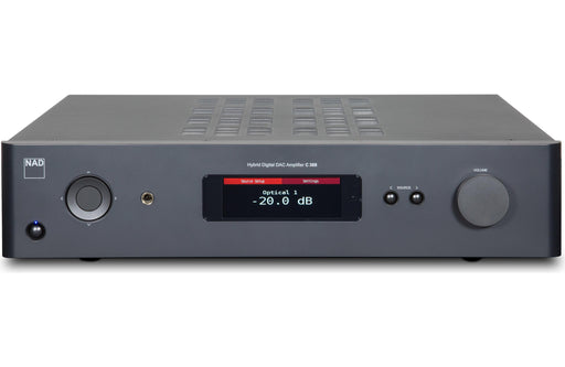 NAD Electronics C 368 Hybrid Digital DAC Amplifier Factory Refurbished - Safe and Sound HQ