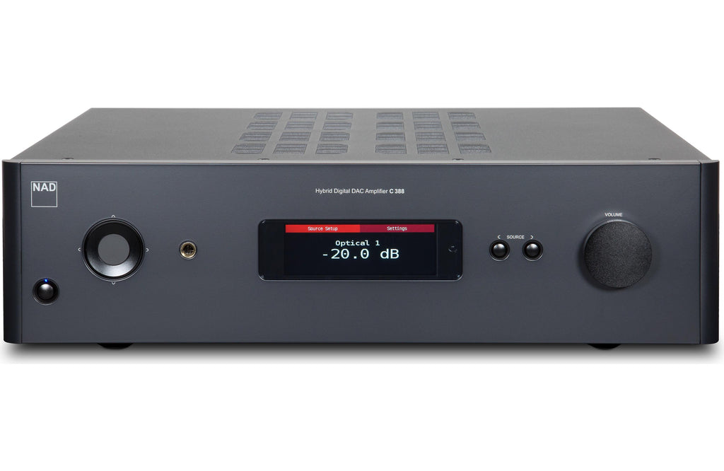 NAD Electronics C 388 Hybrid Digital DAC Amplifier Factory Refurbished - Safe and Sound HQ