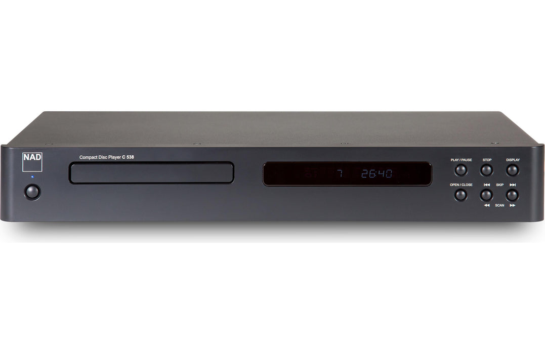 NAD Electronics C 538 CD Player Factory Refurbished - Safe and Sound HQ