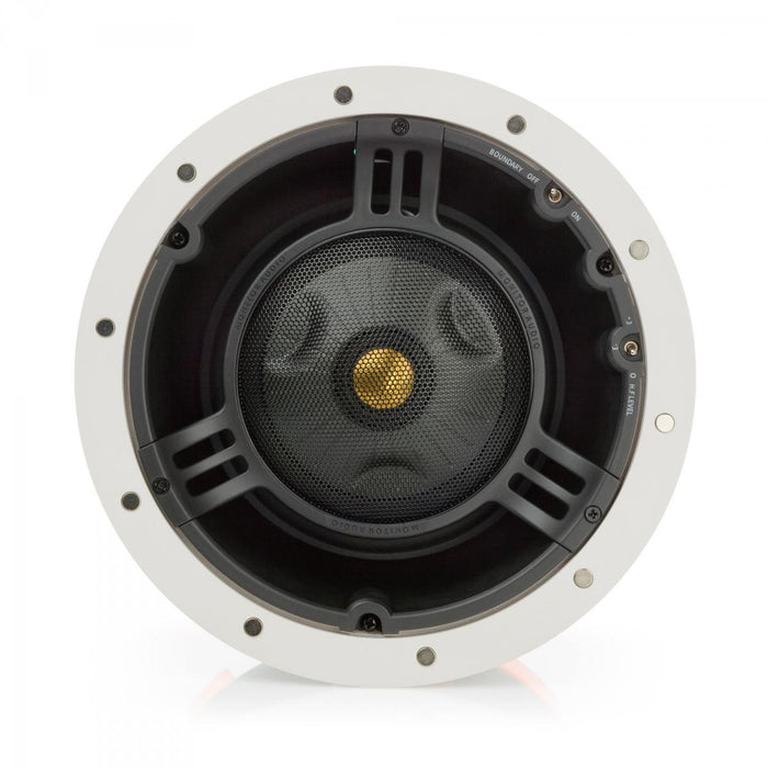 "Monitor Audio CT280-IDC Trimless 200 8"" Pivoting In-Ceiling Speaker (Each) - Safe and Sound HQ"