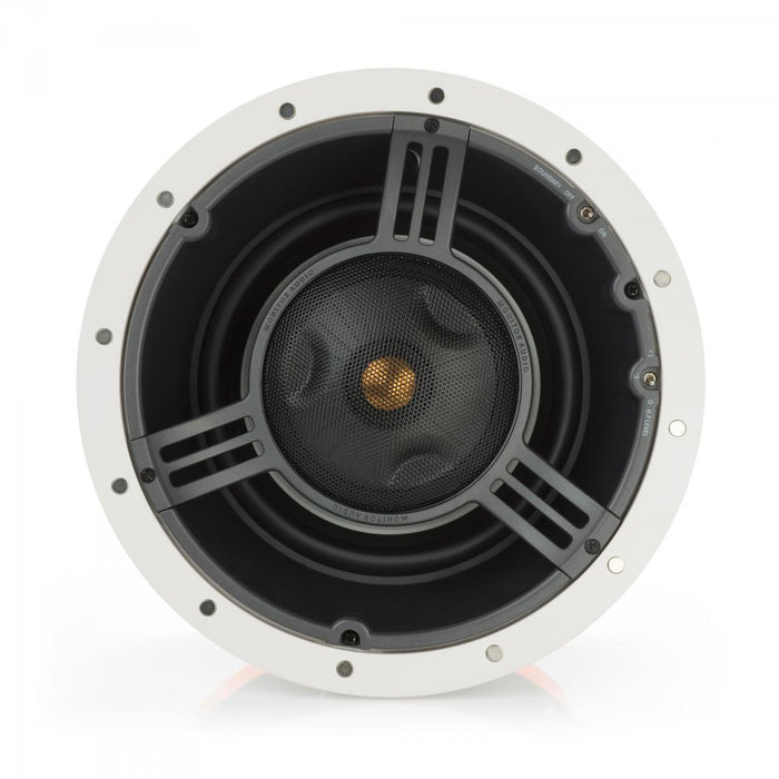 "Monitor Audio CT380-IDC Trimless 300 8"" Pivoting In-Ceiling Speaker (Each) - Safe and Sound HQ"