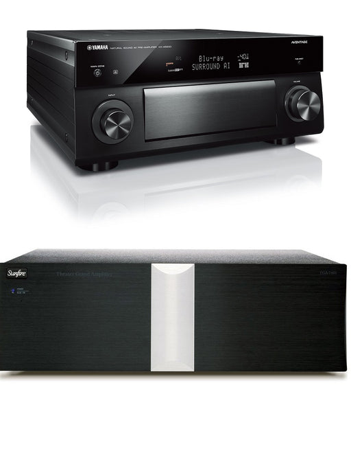 Yamaha CX-A5200 Aventage 11 Channel AV Preamplifier and Sunfire TGA-7401 Power Amplifier Bundle - Safe and Sound HQ