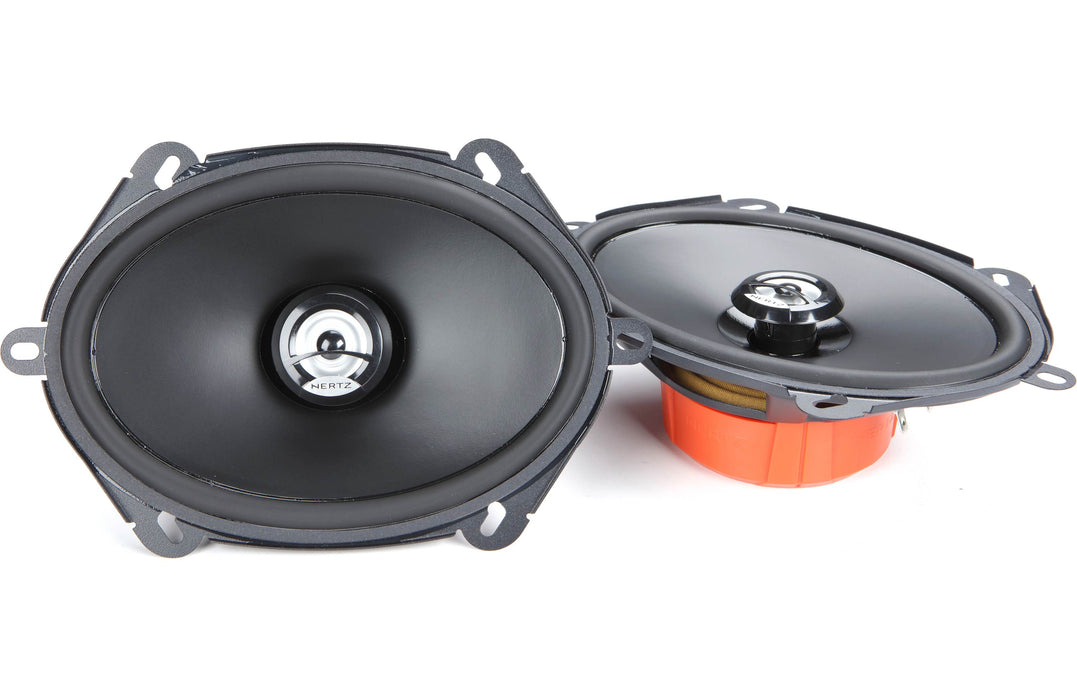 "Hertz DCX 570.3 Dieci Series 2-Way 5"" x 7"" Coaxial Speaker (Pair) - Safe and Sound HQ"