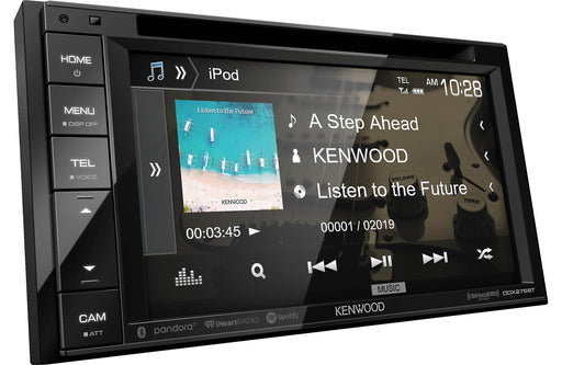 "Kenwood DDX276BT 6.2"" DVD Receiver with Bluetooth - Safe and Sound HQ"