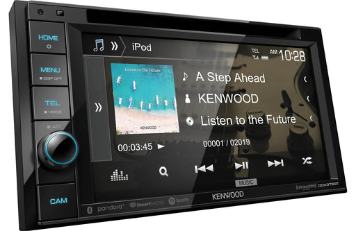 "Kenwood DDX376BT 6.2"" DVD Receiver with Bluetooth - Safe and Sound HQ"