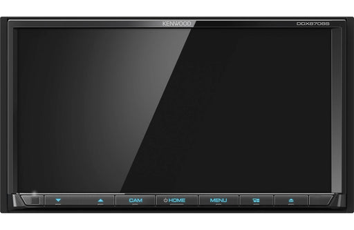 "Kenwood DDX8706S 6.95"" DVD Receiver with Bluetooth - Safe and Sound HQ"