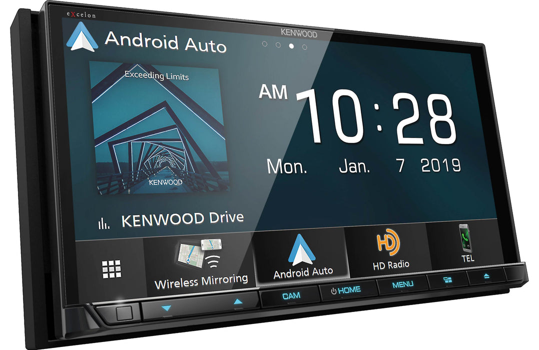 "Kenwood Excelon DDX8906S 6.95"" DVD Receiver with Bluetooth - Safe and Sound HQ"