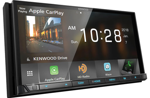 Kenwood DDX9705S Double-Din DVD Receiver with Bluetooth - Safe and Sound HQ