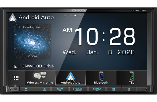 Kenwood DDX9707S DVD Receiver with Bluetooth - Safe and Sound HQ