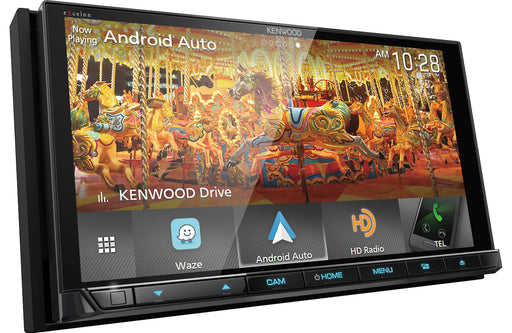 Kenwood DDX9905S Double-Din CD Receiver with Bluetooth - Safe and Sound HQ