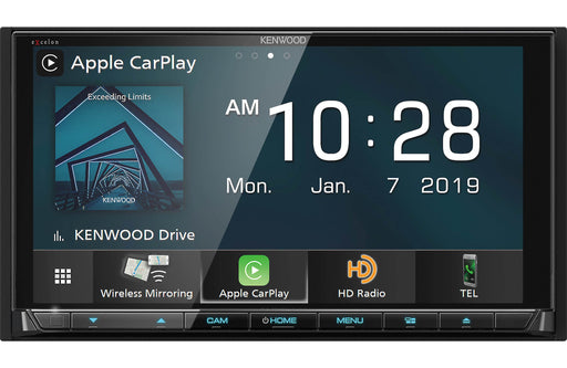 Kenwood Excelon DDX9906XR DVD Receiver with Bluetooth and HD Radio - Safe and Sound HQ