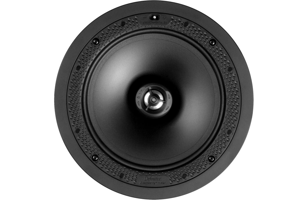 Definitive Technology DI8R Disappearing 8-inch round in-ceiling loudspeaker (Each) - Safe and Sound HQ