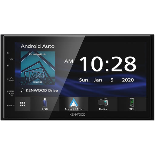 Kenwood DMX47S Digital Multimedia Receiver with Bluetooth - Safe and Sound HQ